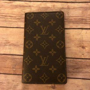 Louis Vuitton monogram Vintage long bifold wallet
